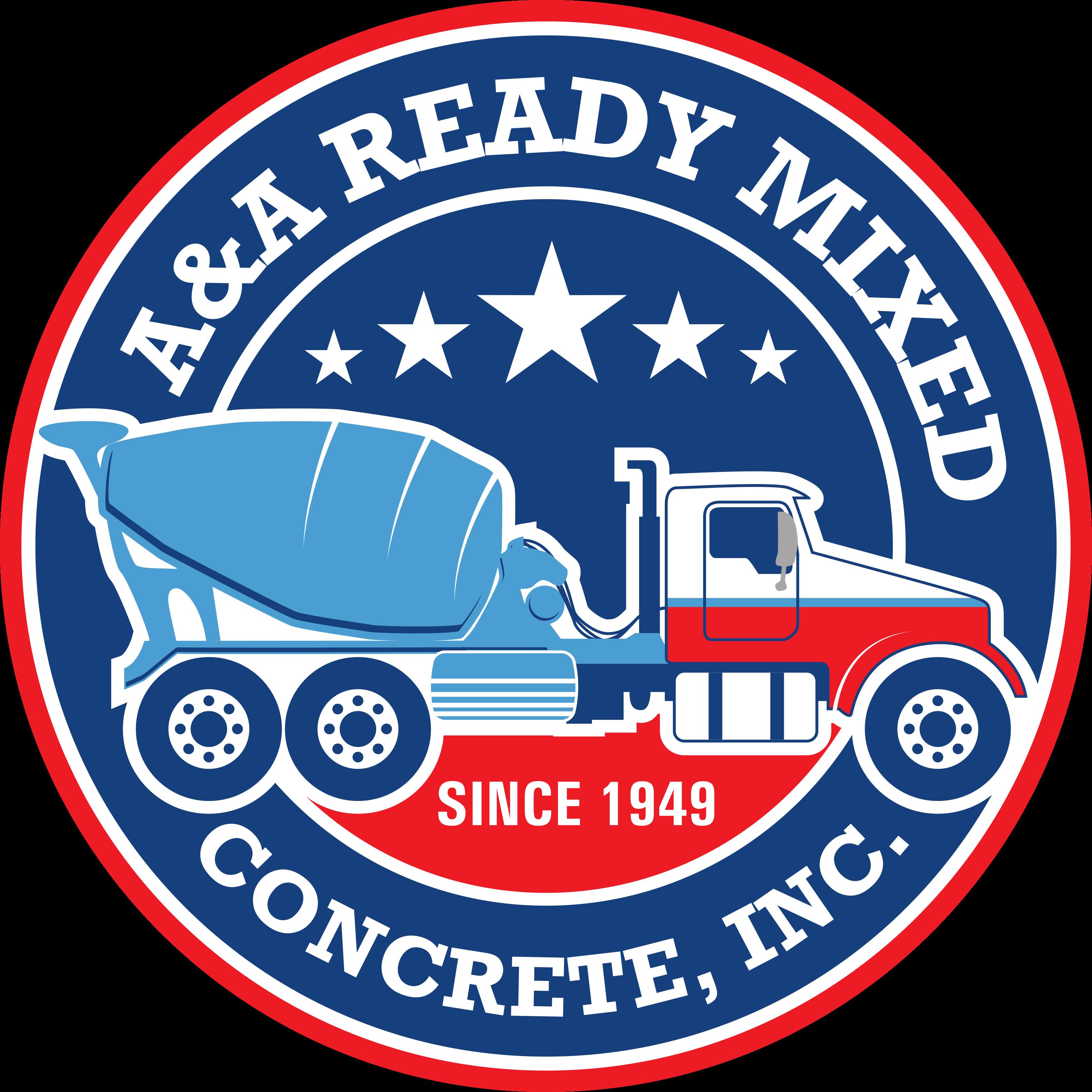 A&A Ready Mixed Logo